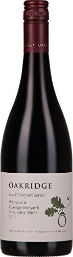 OAKRIDGE Local Vineyard Series Shiraz  奥克睿智酒园西拉澳大利亚雅拉山谷红葡萄酒750ml(澳洲进口红酒)