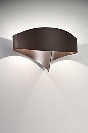 Selene Scudo 壁灯 11 瓦,青铜