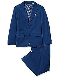 Isaac Mizrahi 男孩 2 件套修身剪裁羊毛混纺套装哈士奇尺码