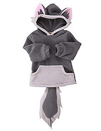 男婴女童可爱狐狸斗篷连帽外套夹克