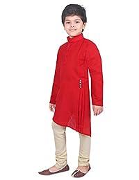 AHHAAAA 儿童民族服装 Kurta 和睡衣套装