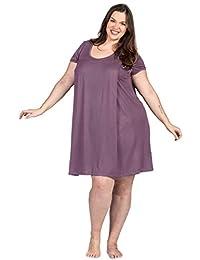 Savi Mom 哺乳睡袍美国纯棉制作。 *喂养泵妈妈的*! Lounge 连衣裙送货礼服