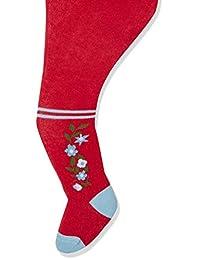 Playshoes 女童乡村居民和纯色舒适裤袜(2 件)