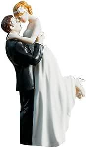 """Weddingstar 真正的浪漫情侣雕像 """"Multi"""" 6-1/2-英寸 9013"""