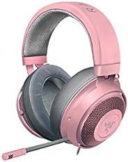 Razer 雷蛇 Kraken 游戏耳机 带冷却凝胶耳垫 适合野心玩家RZ.AU.ME.51.RT Kraken (Pink)