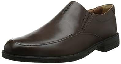 Clarks 男 正装鞋Unbizley Lane  261148507 深棕色皮革 42 (UK 8)