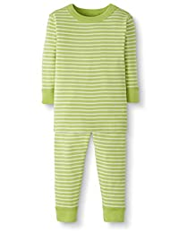 Hanna Andersson Moon and Back 婴儿/幼儿 2 件套*棉长袖条纹睡衣套装