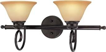 Volume Lighting V6142-79 Troy 双灯古铜色浴室梳妆台