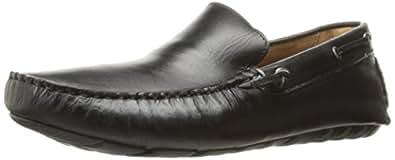 G.H. 低音 & CO 男式 Walter 一脚蹬乐福鞋 黑色 10 D(M) US