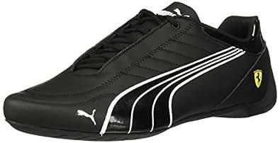 PUMA 男士 Sf Future Kart Cat 运动鞋 Puma Black-puma White-rosso Corsa 13