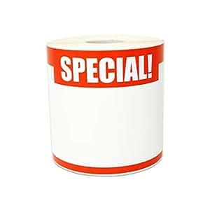 OfficeSmartLabels 零售商店 13.97 x 8.89 厘米贴纸标签 1 Roll 798_red