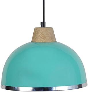 tosel 15564 DEMI - boule B 吊灯, 钢板, 移动/绘画环氧 / PVC 铬245 x 900毫米 绿色 245 x 900 mm