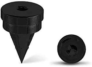 OEHLBACH Spikes S 2000 带垫圈,4 件套。 容量 <70kg。 颜色:黑色。 星级评分:4。