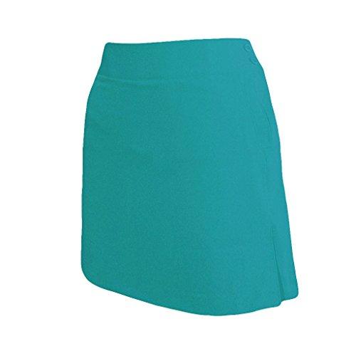 モントレークラブレディース弾性ピンクツイルソリッドカラーのスカート#2877