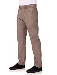 Chef Works 男式垂直条纹裤