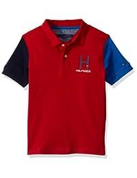 Tommy Hilfiger 汤米·希尔费格男童短袖纯色哑光Polo衫