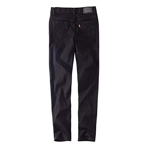 Levi's 大女童高腰紧身牛仔裤