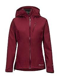Marmot 女式硬壳防雨夹克雨衣防风防水透气 Wm's Precip Eco Plus
