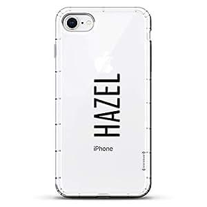Luxendary Designer,3D 印花,时尚,高端,气袋垫LUX-I8AIR-NMHAZEL2 NAME: HAZEL, MODERN FONT STYLE 透明