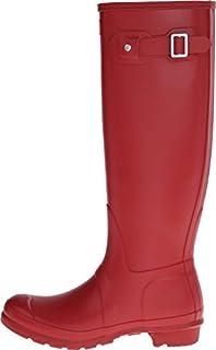 Hunter Women's Original Tall Wellington Boot Mid-Calf Boots Military Red 5 UK