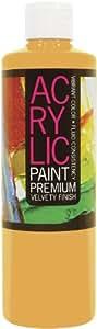 PRO ART 16 盎司学生丙烯酸奶瓶 印度黄 16 fl. oz. (473 ml) 4243-16