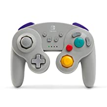 Wireless Controller for Nintendo Switch - GameCube Style, White 灰色