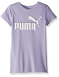 Puma 女童 No .1 标志 T 恤