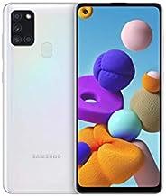 "Samsung 三星 Galaxy A21s (16.63cm (6.5"") 128 GB 内部存储器,3 GB RAM,Dual RAM,Android,白"