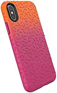 Speck Products iPhone Xs/iPhone X Case 覆盖 多种颜色123794-8074 Pumpkin Orange Ombre Berry Pink