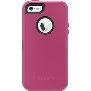 水獭otterbox iphone5S defender 三防保护套 (玫红黑色)