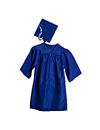 Jostens 儿童尺码毕业帽和礼服套装