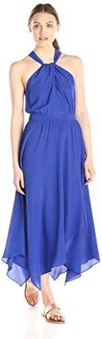 Lark & Ro Women's Halter Neck Middy Dress