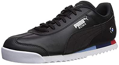 PUMA 男士 BMW Roma 运动鞋 黑色/黑色 11