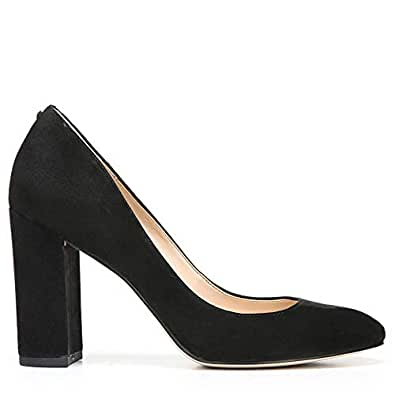 Sam Edelman 女 高跟鞋 Stillson F1973L1001 黑色麂皮 39 (US 9)