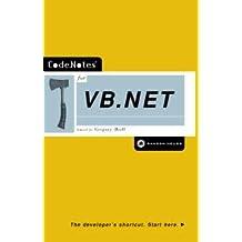 CodeNotes for VB.NET (English Edition)