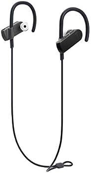 Audio Technica 铁三角 ATH-SPORT50BTBK SonicSport蓝牙无线入耳式耳机,黑色