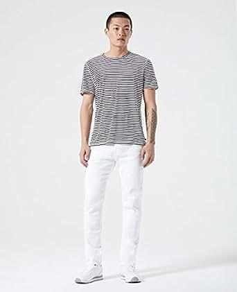 AG Adriano Goldschmied男牛仔裤直筒长裤白色流行A063G WHITE 29