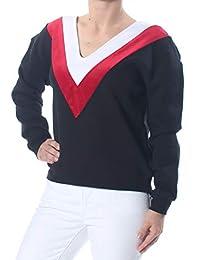 Kendall + Kylie 女士 V 形圖案運動衫