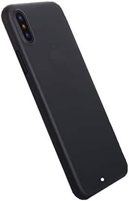 Tiergrade 防刮双层防震保护壳适用于苹果 iPhone X(2017) iPhone X 手机壳 黑色