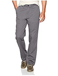 Nautica 诺帝卡男式弹力柔软斜纹布,经典修身裤