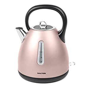 Salter Polaris Metallics 水壶和烤面包机套装 Champagne Edition Dome Kettle EK3218CHAMPAGNE