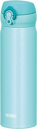 膳魔師 水杯 真空隔熱便攜馬克杯 【一觸即開式】 0.5L パステルミント 0.5L JNL-503 PMT