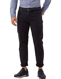 Brax 男式 Chuck Hi-Flex 结构 5 口袋 休闲现代合身裤 Blau(*蓝23) 42W / 34L