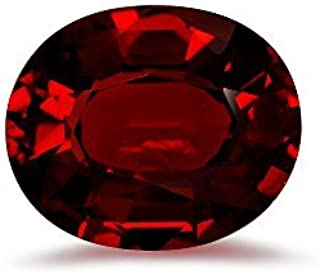 2.70-3.05 Cts of 10x8 mm AAA Oval Step Cut Mozambique Garnet (1 pc) Loose Gemstone