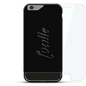 奢华设计师,3D 印花,时尚,高端,高级LUX-I624KB360-NMLUCILLE1 Lucille, Hand-Written First Name Velvet Black & Titanium Black