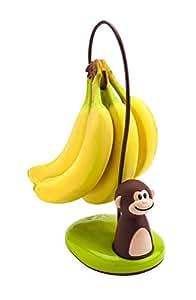 "Joie Monkey 香蕉树架挂钩 棕色 5.75"" 77700"