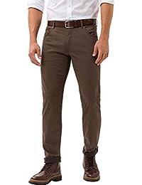 Brax 男式 Chuck Hi-Flex 结构 5 口袋 休闲现代合身裤 Braun (Nut 53) 38W / 34L