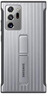 三星 Galaxy Note20 Ultra 5G 手机壳,坚固防摔保护套 - 银色(美国版)