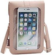 触摸屏交叉包小号手机斜挎单肩钱包女式钱包袋适用于 iPhone 11 / LG Stylo 4 / Moto G Pro,G Power Stylus,G8 Play G7 G6 E6S E6 Plus Z4 Z3 Pi