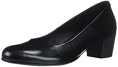 ECCO 爱步 浅口鞋 SHAPE M 35 女士 黑色 22.0 cm